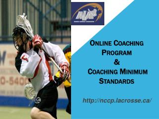 Online Coaching Program &  Coaching Minimum Standards