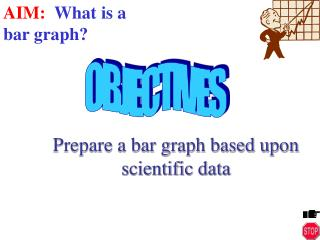 Prepare a bar graph based upon     scientific data