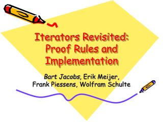 Iterators Revisited: Proof Rules and Implementation