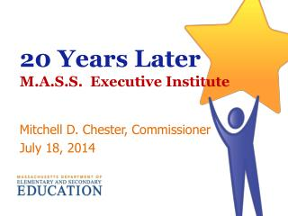20 Years Later M.A.S.S.  Executive Institute