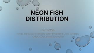 Neon Fish distribution