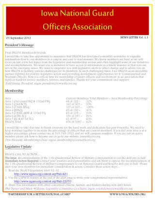 Iowa National Guard  Officers Association