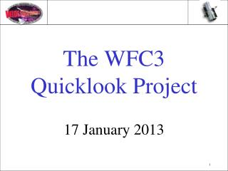 The WFC3 Quicklook Project