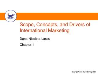 Scope, Concepts, and Drivers of International Marketing