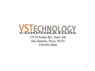 17170 Jordan Rd., Suite 106 San Antonio, Texas 78154 210-651-6868