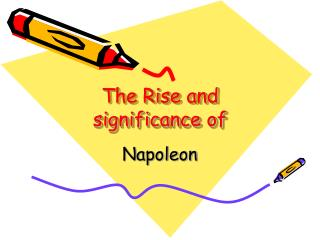 The Rise and significance of