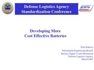 Defense Logistics Agency Standardization Conference