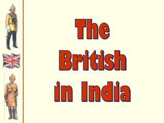The British in India