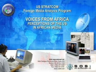 SOS International Ltd. 1900 Campus Commons Drive, Suite 250 Reston, VA 20191-1535