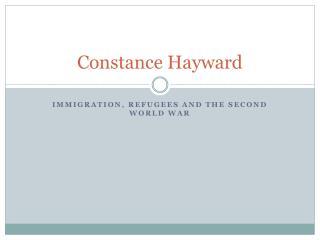Constance Hayward