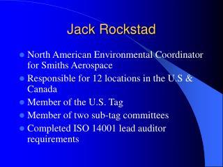 Jack Rockstad