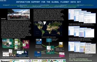 Interaction  Support for the Global  Fluxnet  Data Set