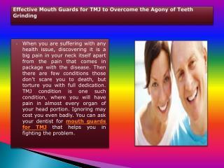 Bruxism Dental Guard
