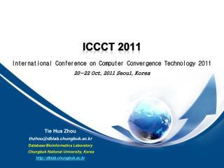 ICCCT 2011