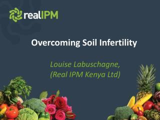 Overcoming Soil Infertility