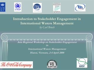 Introduction to Stakeholder Engagement in International Waters Management by Carl Bruch