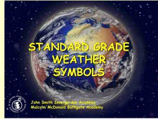 STANDARD GRADE WEATHER SYMBOLS