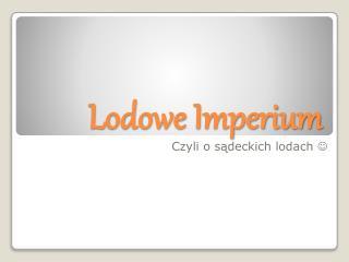 Lodowe Imperium