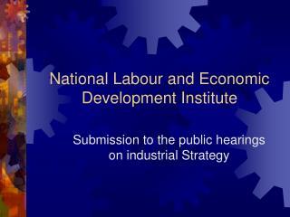 National Labour and Economic Development Institute