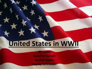 United States in WWII