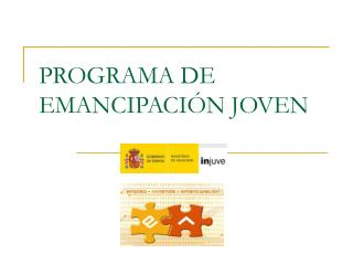 PROGRAMA DE EMANCIPACIÓN JOVEN
