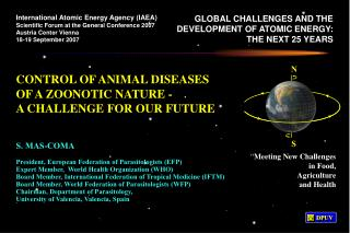 CONTROL OF ANIMAL DISEASES OF A ZOONOTIC NATURE - A CHALLENGE FOR OUR FUTURE