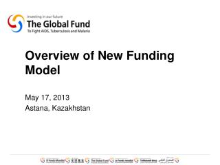 Overview of New Funding Model