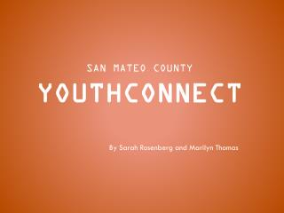 San Mateo county YouthConnect
