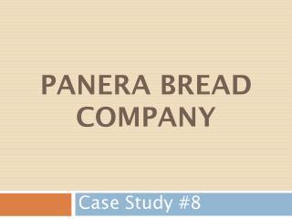 Panera Bread Company