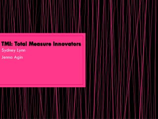 TMI: Total Measure Innovators