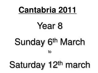 Cantabria 2011