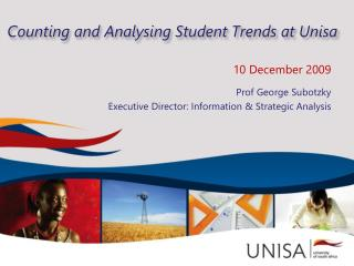 Counting and  Analysing  Student Trends at Unisa