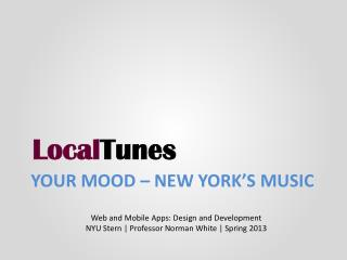 Your mood – New York's Music
