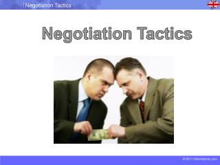 Negotiation Tactics