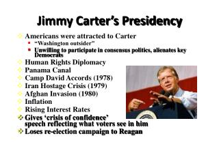 Jimmy Carter�s Presidency