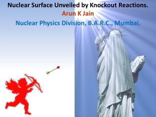 Nuclear Surface Unveiled by Knockout Reactions. Arun K  Jain