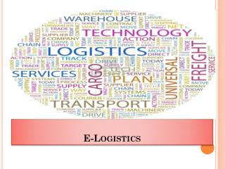 E-Logistics