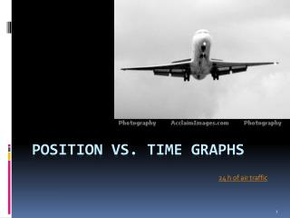 Position vs. Time Graphs