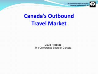 Canada�s Outbound  Travel Market
