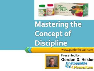 Mastering the Concept of Discipline