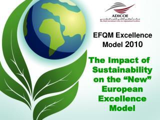 EFQM Excellence Model  2010