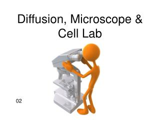 Diffusion, Microscope  Cell Lab