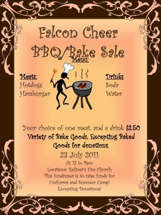 Falcon Cheer  BBQ/Bake Sale