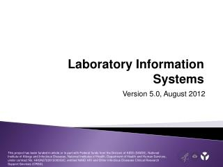 Laboratory Information Systems