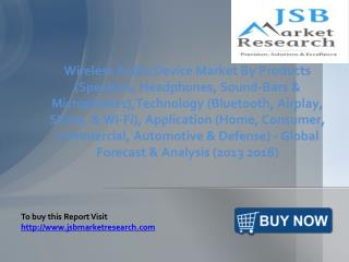 JSB Market Research: Wireless Audio Device Market