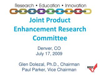 Joint Product Enhancement Research Committee