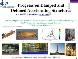Progress on Damped and  Detuned Accelerating Structures