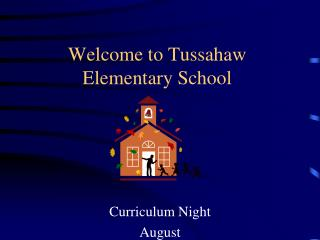 Welcome to  Tussahaw Elementary  School