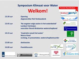 Symposium  Klimaat voor Water