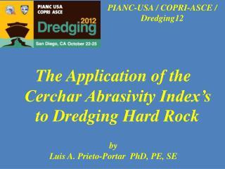 PIANC-USA / COPRI-ASCE / Dredging12